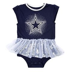Baby Girl Dallas Cowboys Tutu Bodysuit