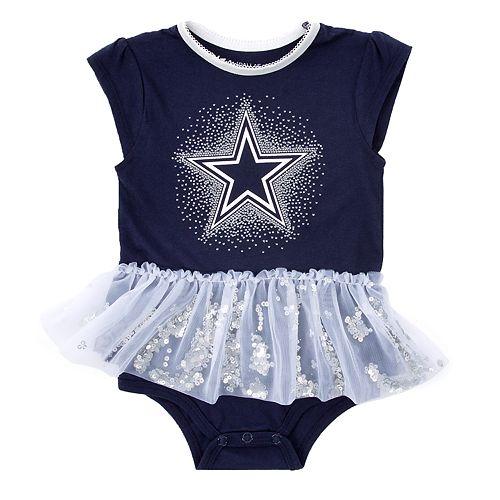 100% authentic a111a a8450 Baby Girl Dallas Cowboys Tutu Bodysuit