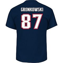 Men's New England Patriots Rob Gronkowski Super Bowl LII Bound Eligible Receiver Tee