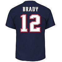 Men's New England Patriots Tom Brady Super Bowl LII Bound Eligible Receiver Tee