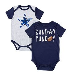 Baby Dallas Cowboys 2-Pack Bodysuit Set