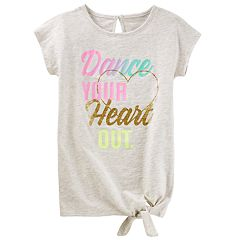 Girls 4-12 OshKosh B'gosh® Graphic Tie Front Top