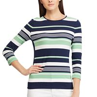 Petite Chaps Striped Top
