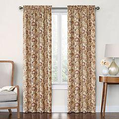 Decorative 2-Pack Arruda Floral Window Curtains