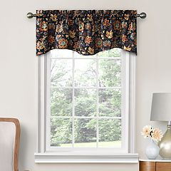 Decorative Arruda Floral Window Valance