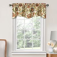 Decorative Mardin Floral Window Valance