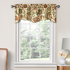 Decorative Mardin Floral Window Valance