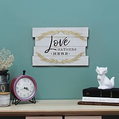 Stratton Home Decor 'Love' Farmhouse Wall Decor