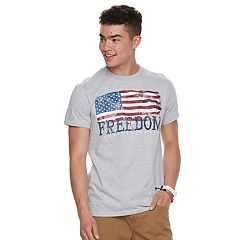 Men's Freedom Flag Tee
