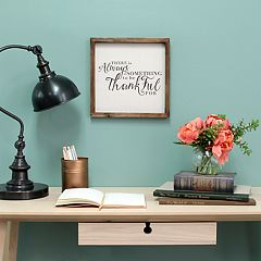 Stratton Home Decor 'Thankful' Farmhouse Wall Decor