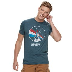 Men's NASA Red, White & Blue Skies Tee