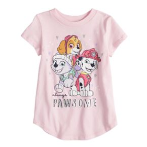 """Toddler Girl Jumping Beans® """"Always Pawsome"""" Skye, Everest & Marshall Graphic Tee"""