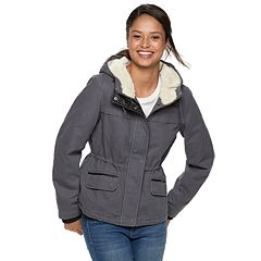 Juniors' Sebby Hooded Anorak Jacket