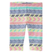 Girls 4-12 OshKosh B'gosh® Printed Capri Leggings