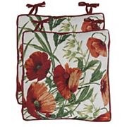 Park B. Smith Poppies Chairpad 2-pack