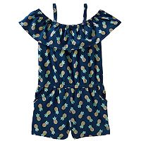 Girls 4-12 OshKosh B'gosh® Ruffled Romper