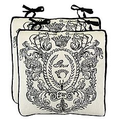 Park B. Smith Paris Postage Chairpad 2-pack