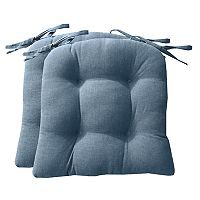 Park B. Smith Chambray Chairpad 2-pack