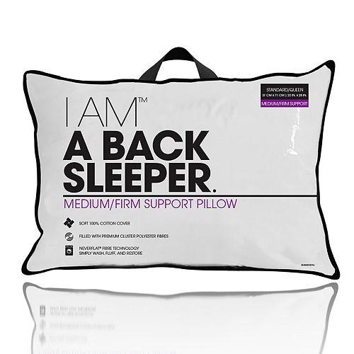 I AM a Back Sleeper Pillow