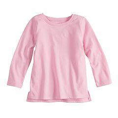 Baby Girl Jumping Beans® Vented Hem Long Sleeve Tee