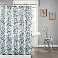 Madison Park Lyla Botanical Print Shower Curtain