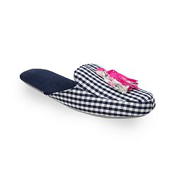 Women's Dearfoams Tassel Scuff Slippers