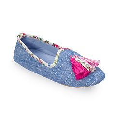 Women's Dearfoams Tassel Loafer Slippers