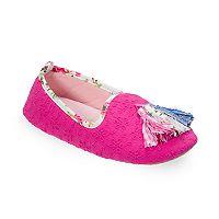 Women's Dearfoams Tassel Loafer Slippers