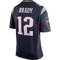 Men's Nike New England Patriots Tom Brady Super Bowl LII Bound Jersey