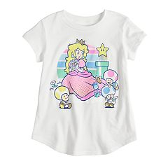 Toddler Girl Jumping Beans® Nintendo Princess Peach Graphic Tee
