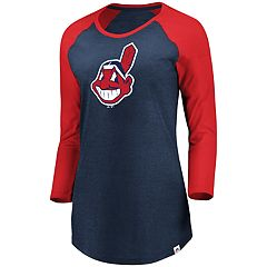 Plus Size Majestic Cleveland Indians Winner's Glory Tee