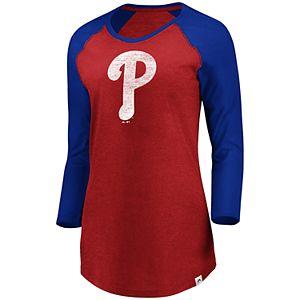 63aa39f8d06 Sale.  27.00. Regular.  45.00. Plus Size Majestic Philadelphia Phillies ...
