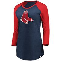 Plus Size Majestic Boston Red Sox Winner's Glory Tee