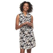 Women's Dana Buchman Sateen Shirt Dress