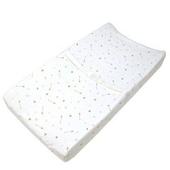TL Care Arrow Print Fitted Contoured Changing Table Pad Cover