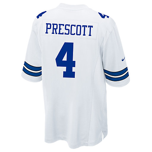 d3dee414a37 Men's Nike Dallas Cowboys Dak Prescott Replica Jersey