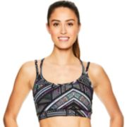 Gaiam Stella Strappy Yoga Medium-Impact Sports Bra GAW182BRST