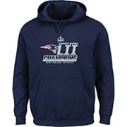 Men's New EnglandPatriots Super Bowl LII Champions Fanfare Hoodie