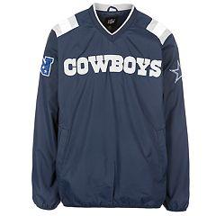 Men's Dallas Cowboys Pullover Wind Jacket