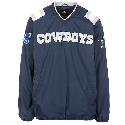 new concept 97b3a 93f04 Men's Dallas Cowboys Pullover Wind Jacket