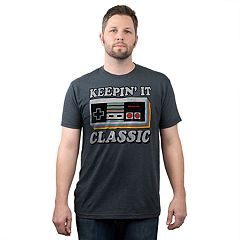 Big & Tall Fifth Sun Nintendo Controller 'Keepin' It Classic' Graphic Tee