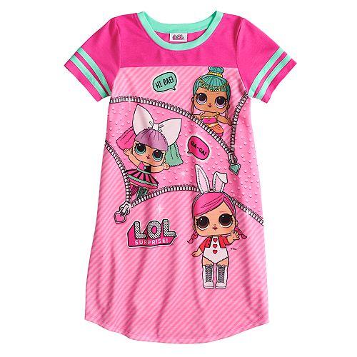 Girls LOL Surprise Dolls Pyjamas Long PJs Nightie Nightwear Ages 4-10 Years