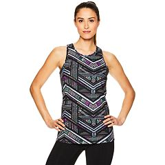 Women's Gaiam Shilo Strappy Back Built-In Bra Tank