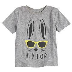 Toddler Boy Jumping Beans® Bunny 'Hip Hop' Graphic Tee