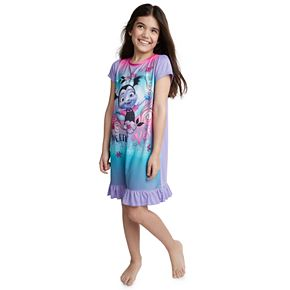 "Disney Junior Vampirina ""Sweetly Vee"" Girls 4-8 Nightgown & Doll Gown Set"