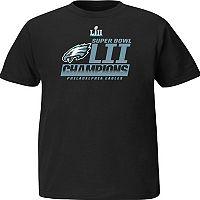 Boys 8-20 Philadelphia Eagles Super Bowl LII Champions Fanfare Tee