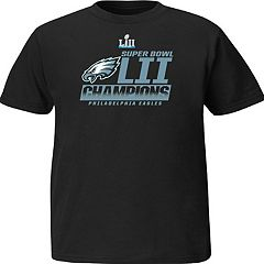 Boys 8-20 Philadelphia Eagles Super Bowl LII Champions Fanfare Tee