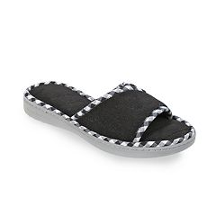 Women's Dearfoams Microfiber Terry Slide Slippers