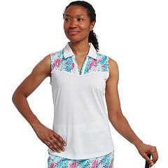 Women's Pebble Beach Jersey Sleeveless Golf Polo