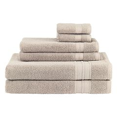 Avanti Turkish Spa 6-piece Solid Towel Set